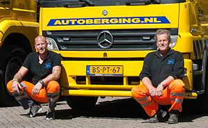 Henk Roos jr en Henk Roos sr