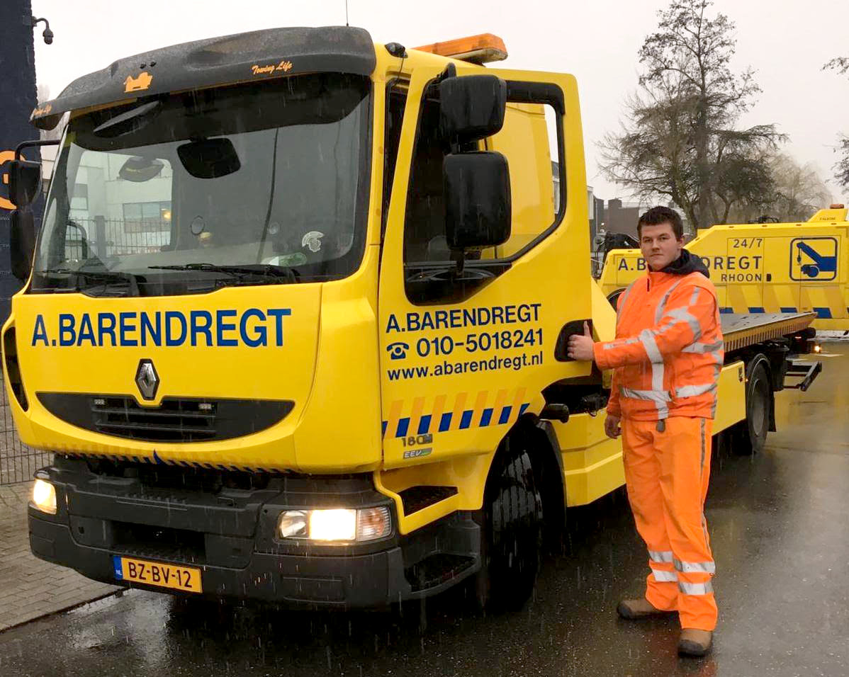 Mike Lourens of Takel-, Bergings- en Transportbedrijf A. Barendregt