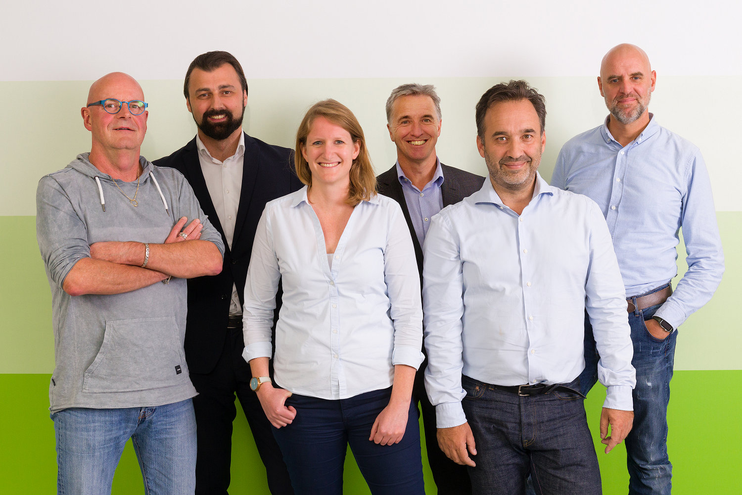 Edwin Kiewik, Hajrudin Smajilbegovic, Caroline Stoov�, Marcel van der Meulen, Peter Tangstr�m and Wim Buys of SOS International